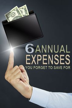 Need to know what annual expenses you need to save for? Here are the tops annual expenses you should budget for to help you.