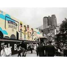 Centro de #Bogotá.  Puro arte urbano.  #paisaje #urban #arte #artist