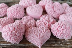 20 pink heart soap favors: wedding favors, birthday favors, beach favors, baby shower favors, mother's day Source by Soap Wedding Favors, Soap Favors, Party Favors, Soap Carving, Heart Party, Birthday Favors, Home Made Soap, Handmade Soaps, Baby Shower Favors