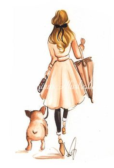 """Receive excellent pointers on """"Bulldog Puppies"""". They are actually on call for you on our internet site. French Bulldog Tattoo, French Bulldog Art, French Bulldog Puppies, Watercolor Fashion, Fashion Painting, Black French Bulldogs, Original Paintings, Original Art, Fashion Wall Art"""