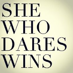 Good Morning Loves! Happy Tuesday! Be Daring- from a fave blogger- VeCoya G