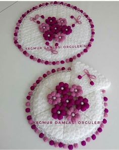 Lif Woolen Craft, Yarn Crafts, Crochet Flowers, Crochet Baby, Elsa, Crochet Earrings, Crochet Patterns, Knitting, Stuff To Buy