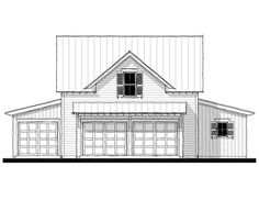 House Plan - G) Design from Allison Ramsey Architects House Plans, Floor Plans, Exterior, Flooring, How To Plan, House Styles, Building, Architects, Garage