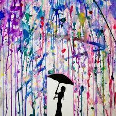 raining paint