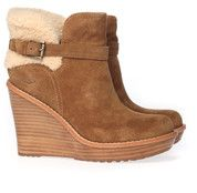 Bruine Ugg boots Anais enkelaarsjes
