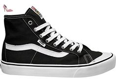 Vans Black Ball Hi SF Baskets, Black/true White - Chaussures vans (*