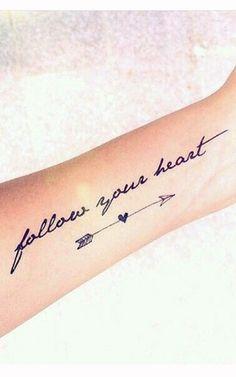 Cute Arrow Tattoo Ideas For Women - Best Tattoos For Women: Cute, Unique, and Meaningful Tattoo Ideas For Girls - Get Cool Female Tattoos with Pretty Designs Trendy Tattoos, Love Tattoos, Body Art Tattoos, New Tattoos, Small Tattoos, Girl Tattoos, Tattoos For Girls, Heart Tattoos, Butterfly Tattoos