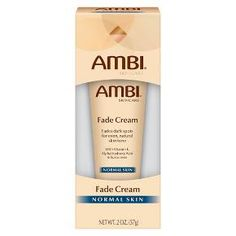 New and improved AMBI® Fade Cream for Normal Skin effectively and safely fades unwanted dark marks without changing your natural skin tone. When used as directed, results may be seen in as little as 2 weeks. Once your natural skin tone is restored, you may discontinue use of the product. To help keep skin even toned, it is important to use a sunscreen (SPF 30) with the use of AMBI® Fade Creams.