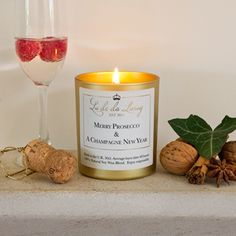 Gift Idea For Women`s MERRY PROSECCO CANDLE  #Christmas #Christmas2016  #Xmas  #ILoveXmas  #XmasIsComming #Xmaslet  #Recipes #ChristmasDecoration #Christmastree #Christmassong  #Gifts  #ChristmasGifts  #ChristmasCountdown