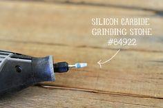 Carbide Dremel Attachment via lilblueboo.com - for carving soft rocks