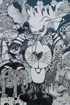 Lion Doodle