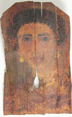 Mummy Portrait UC38061 -The Petrie Museum of Egyptian Archaeology, London.