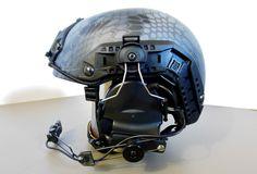 My Lancer Tactical with rail mounted Comtac II. Custom Helmets, Custom Guns, Viking Shield Maiden, Post Apocalyptic, Headgear, Tactical Gear, Football Helmets, Vikings, Gears
