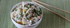 Dalla tipica #cucinacinese uno fra i più gustosi e semplici piatti tradizionali... #Risoallacantonese #riso