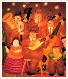The Musicians - Fernando Botero