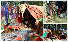 medieval gypsy camp. Not all merchants HAVE to have a merchant stall ;)  I believe this is Shuvani Kumpania from England