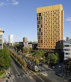 Residencia de Estudiantes, Universidad de Arte y Diseño de Massachusetts / ADD Inc. (Boston, MA, EEUU) #architecture