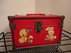 Child's Vintage Box Purse