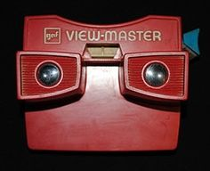 I had a View-Master, of course. Every time my folks and I went to Reedsport, Oregon, we'd go to the pharmacy there and I'd get a new set of reels. Good times.