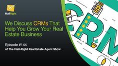 Real Estate CRM Strategies (video and podcast) Online Real Estate, Real Estate Tips, Real Estate Business, Real Estate Marketing, Internet Marketing, Online Marketing, Digital Marketing Plan, Marketing Process, Online Presentation