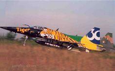 Caça Northop F5 da FAB