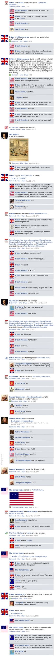 Facebook News Feed History of the World > American Revolution History Jokes, World History, Funny History, Facebook News, Funny Facebook, American Revolution, American Humor, American History, French Swear Words