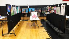 Mobile Art Gallery | Screenflex Portable Room Dividers