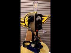 #robot lights by www.pbrobots.com #steampunk #homedesign #robotsculptures #industrial #house #handmade SOLD Assemblage Art, Industrial House, Everyday Objects, Steampunk Fashion, Robot, Sculptures, Home Appliances, House Design, Lights