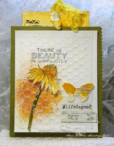 Annes paper fun: #lifeisgood using Tim Holtz, Ranger, Idea-ology, Sizzix and Stampers Anonymous products; Mar 2015