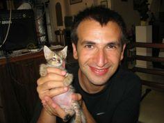A Incrível História de Salvamento de uma Gatinha Cega - Patudos Online