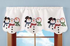 Embroidered Snowman Winter Window Valance Collections Etc http://www.amazon.com/dp/B0147Z96JY/ref=cm_sw_r_pi_dp_I1Kjwb0NR54Q7