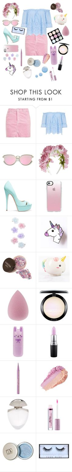 """""""Dan and Phil pastel edits inspired"""" by erickscrazyladies ❤ liked on Polyvore featuring Topshop, Monsoon, Casadei, Casetify, Elodie, Tony Moly, MAC Cosmetics, Too Faced Cosmetics, Bulgari and Huda Beauty"""
