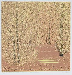 Four seasons (Autumn), by jianglin, Zian Print and Graphics, Fangjiahutong No 30,Beijing.China,Chinese Graphics,limited editions