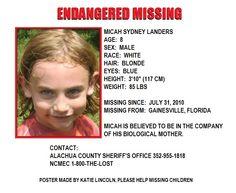 missing children Help Missing Children: June 2011