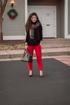 The Tailored Olive- Best After Christmas Sales, J. Best After Christmas Sales, Christmas Fun, Lace Pants, Red Lace, Fashion Photo, Personal Style, J Crew, Lifestyle, Chic