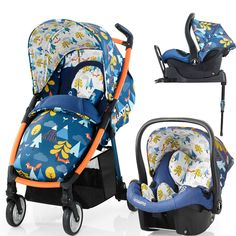 Cosatto Fly Isofix Travel System (Fox Tale) £454.45 all in