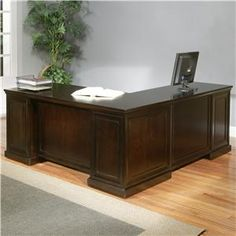 Centennial Computer Desk And Return By Aspenhome Ahfa