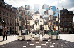 arnaud lapierre, audi, ring, eric mercier, spiegel, würfel, reflexion, winkel, piazza, place vendome, paris