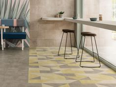 Colour Edit applies the power of colour theory. An explosion of colourways, four distinct styles and a plaster-like texture that will change the way you see and use colour. Amtico Signature, Ceramic Texture, Make Color, Colour, Commercial Flooring, Brutalist, Signature Design, Surface Design, Innovation
