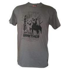 Forget it Brother (paying homage to The Clash, London Calling), T-shirt: Executive Decision