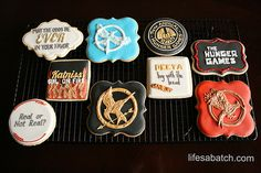Hunger Games ⚜ themed cookies