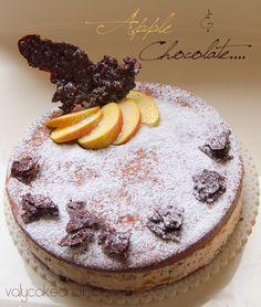 Italian Ricotta Cheesecake with Apple
