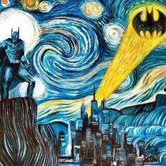 batman gogh