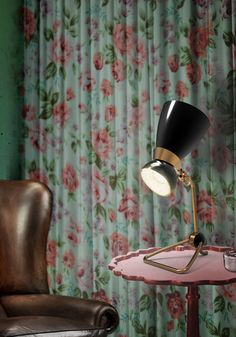 Every time I see this Lamp my mind is trapped with Winehouse's figure. Truly amazing piece of art from Delightfull.