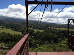 Piiholo Ranch Zipline in Makawao, HI Doing this was a blast!!!