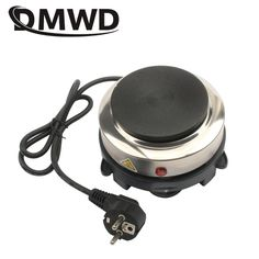 DMWD Electric Mini Coffee Heater Milk Tea Mocha Heating Stove Hot Plate Multifunctional Cooking Pot Oven Small Furnace Cooker EU Electric Stove, Milk Tea, Multifunctional, Mocha, Cool Kitchens, Kitchen Appliances, Cookers, Plates, Coffee