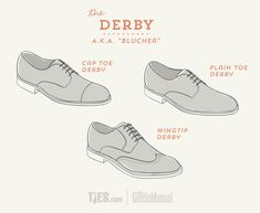 The Ultimate Guide to Dress Shoes: Derby, Blucher