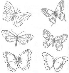 sketches of insect eyes Butterfly Embroidery, Hand Embroidery Patterns, Beaded Embroidery, Embroidery Designs, Chinese Embroidery, Butterfly Sketch, Butterfly Crafts, Butterfly Art, Butterflies
