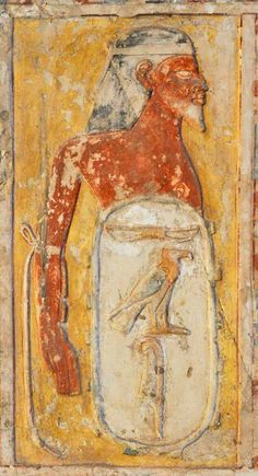 Tomb of Kheruef (TT192), reign of Amenhotep III and Akhenaten: bound captive Peityu-shu, from Desert of the East © OSIRISNET.NET