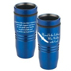 Blessed Is The Father Who Walks With God | Cascade Tumbler - A practical Father's Day gift!